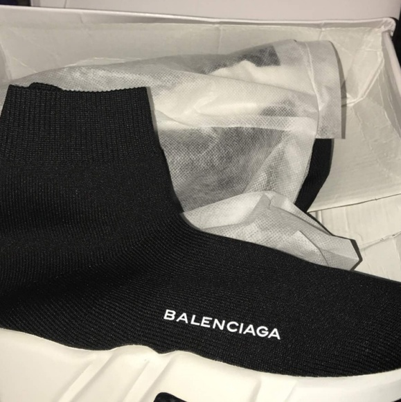 Shoes Balenciaga Speed Trainer Oreo Poshmark